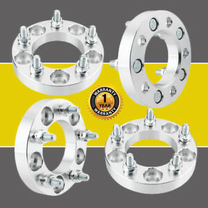 4 1 Wheel Spacers 5x4 75 To 5x4 75 12x1 5 Studs 87 1mm For Chevy Gmc Sonoma