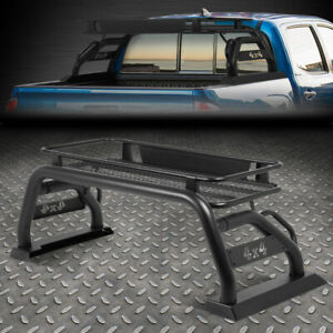 For 2015 2019 Toyota Tacoma Bed Heavy Duty Roll Bar W roof Cargo Carrier Basket