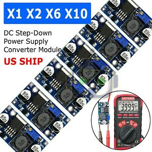 1x 10x Lm2596s Dc dc 3a Buck Adjustable Step down Power Supply Converter Module