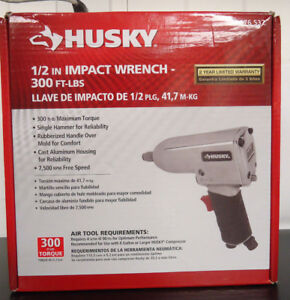 Ri2 Husky H4430 1 2 Air Impact Wrench 300 Ft Lbs