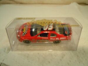 TEAM CALIBER MAY 26  2003 COCA-COLA 600 LOWE'S DIECAST CAR 1/64