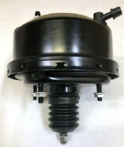 7 Single Diaphragm Black Power Brake Booster Universal Hot Rod Ford Chevy New