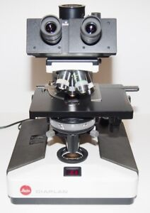 Leitz Diaplan Phase Contrast Diagnostic And Research Microscope