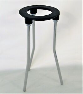 Cast Iron Stand Tripod For Lab Bunsen Burner Height 7 Ring Diameter 3 1 4