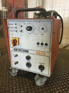 Keystone Arc Stud Welder 3ph 208 230 400 460v 50 25 Amp Da312