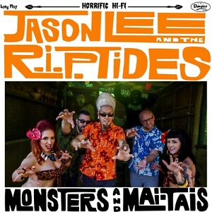 Jason Lee and the R.I.P. Tides Monsters and Mai Tais Surf Music Dionysus New $15.95