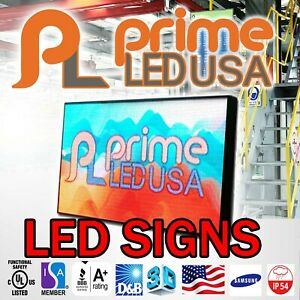 Led Sign P10 Smd Full Color Indoor outdoor Wifi Led 12 5 X 25 25