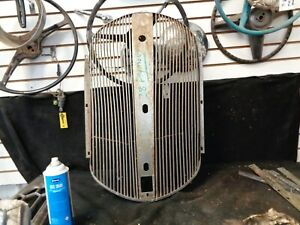 1938 Plymouth Grille Used Take Off Vintage Aftermarket Part With Patina