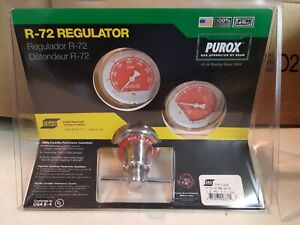 Purox R 72 Gas Regulator Gauge Cutting Welding Torch 21526 15 Psig Acetylene