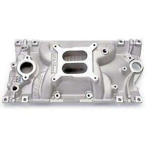 Edelbrock 2716 Performer Eps Vortec Intake Manifold For Small Block Chevy