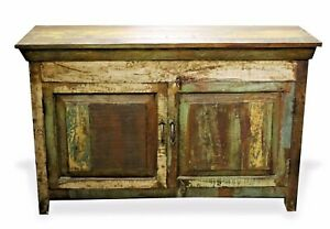 Reclaimed Indian Chest Bedside Tv Stand Rustic Free Shipping