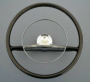 New In Box 1957 Old Chevrolet Antique Car Steering Wheel 15 Little Size