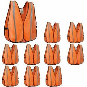 Xshield Xs0008 10high Visibility Safety Vest With Silver Stripeansi Class Unr