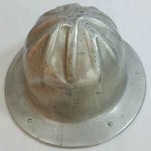 Vntg Bf Mcdonald Aluminum Safety Hard Hat Oilfield Construction Miner s Hat