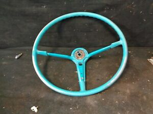1955 Chevy Belair Steering Wheel Original Oem 18 150 210 Sedan Nomad Nice