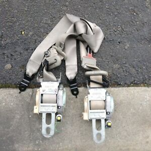 2006 2007 2008 2009 2010 dodge Charger Front Seat Belts pairs oem