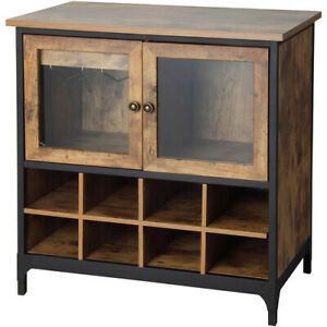 Rustic Country Wine Cabinet Pine