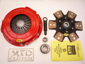 Xtd Stage 3 Clutch Kit 99 04 Mustang Gt Cobra 11inch