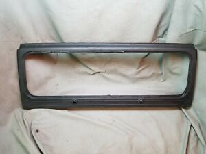 Jeep Wrangler Yj 87 95 Black Windshield Frame Oem No Glass Free Ship Painted