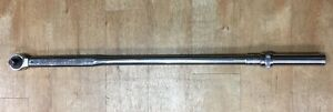Gearwrench 85055 3 4 Drive Micrometer Torque Wrench 100 600 Ft Lbs