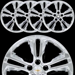 4 For Chevrolet Cruze Lt 2016 18 Chrome 16 Wheel Skins Hub Caps Full Rim Covers