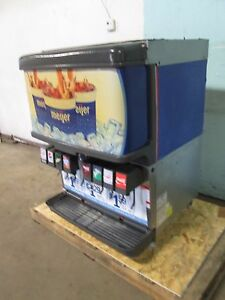cornelius Df250 bc Commercial Heavy Duty Lighted 8 Heads Soda W ice Dispenser