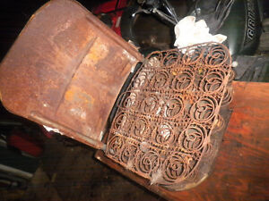 International Scout 800 Driver Seat Frame Spring Etc