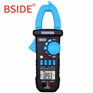 Bside Acm03plus 400a Digital Multimeter Ac dc Current Clamp Meter Car Cap Hz Ohm