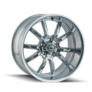 Cpp Ridler 650 Wheels 17x7 18x9 5 Fits Plymouth Belvedere Fury Gtx