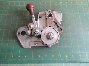 Machinist Tools Vintage Craftsman Lathe Gear Assembly
