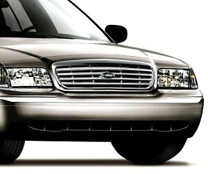New Genuine Oem Factory Ford Crown Victoria Chrome Grill 6w7z8200aa P71 Police