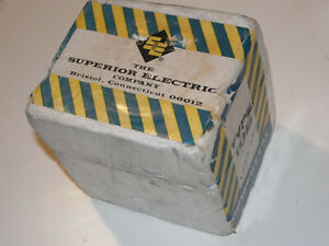 New Sealed Box Superior Electric Powerstat Type 10b Variable Transformer Usa