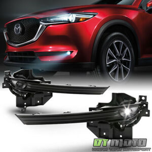 Left Right 2017 2018 2019 Mazda Cx 5 Led Bumper Fog Lights Driving Lamps W Swith