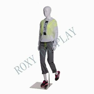 Female Sports Mannequin Elegant Moving Pose With Hiking Legs mz zl f01
