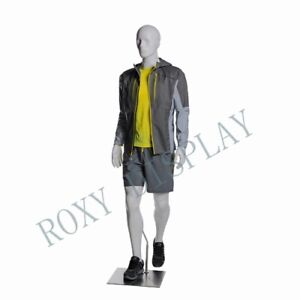 Male Sports Mannequins Elegant Moving Pose With Hiking Legs mz zl m01