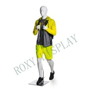 Male Sports Mannequins Elegant Moving Pose With Hiking Legs mz zl m02