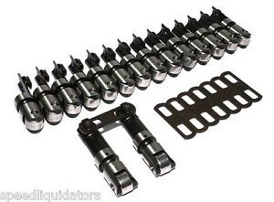 Comp Cams Late Model Sbc Chevy Endure x 300 Tall Solid Roller Lifters 873 16