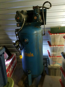 Emglo 60 Gallon Vertical Air Compressor Must Sell Need The Space