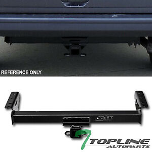 Topline For 1984 2001 Jeep Cherokee Class 3 Trailer Hitch Tow Receiver 2 Blk