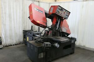 16 X 16 Amada Model Ha 400w Automatic Horizontal Saw Yoder 66419