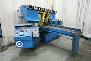 12 X 16 Peerless Horizontal Saw Yoder 66286