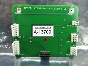 Rudolph Technologies 200758 Rotate Arm A Axis Motor Board Pcb Rev C Used