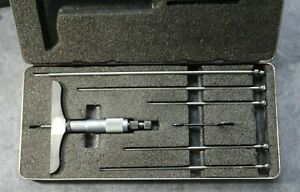Beautiful Starrett Depth Micrometer Model 445 4 0 Base