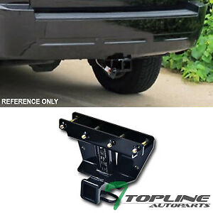 Topline For 2005 2010 Jeep Grand Cherokee Class 3 Trailer Hitch Receiver 2 blk