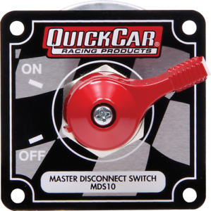 Quick Car Master Disconnect Battery Switch On off 125amp 12v W face Plate 55 009