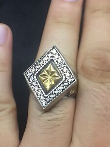 Roman Silver Ring Old With Beautiful Design Rare Old From Afghanistan