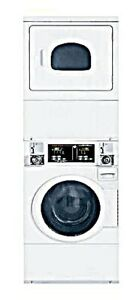 New Stack Washer dryer 22 Lb Capacity Electric Speed Queen Stencasp175tw01