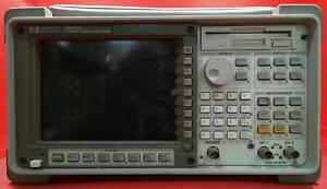 Hp Agilent 35670a Fft Dynamic Signal Analyzer