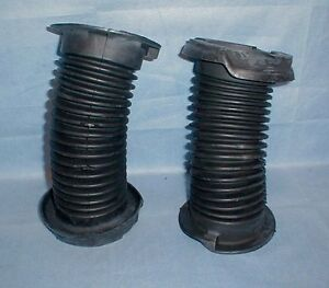Maserati Biturbo Rear Shock Rubber Boot Set Strut Bellows 317020331 Gaiter