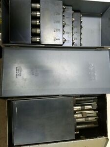 Huot Machinest Drill Bit Index Boxes Deming Bits